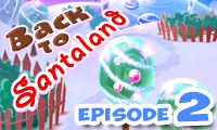 Online free browser game: Back to Santaland: Winter Holidays