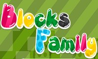 Online free browser game: Blocks Family