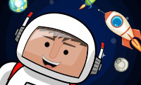 Online free browser game: Space Rescue