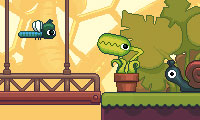 Online free browser game: Feed Me