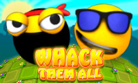Online free browser game: Whack Them All