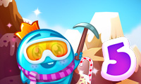 Online free browser game: Back to Candyland 5: Choco Mountain