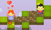Online free browser game: Save the Princess: Love Triangle