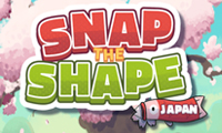 Online free browser game: Snap the Shape: Japan