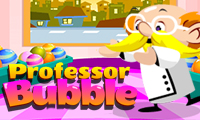 Online free browser game: Professor Bubble