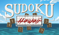 Online free browser game: Sudoku Hawaii