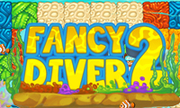 Online free browser game: Fancy Diver 2