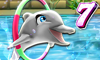 Online free browser game: My Dolphin Show 7
