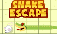 Online free browser game: Snake Escape