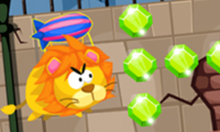 Online free browser game: Zoo Panic