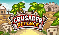 Online free browser game: Crusader Defense