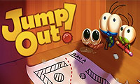Online free browser game: Jump Out the Box: Computer