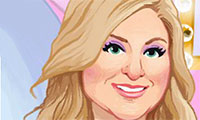 Online free browser game: Meghan Trainor Makeup
