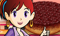 Online free browser game: Sara\\\'s Cooking Class: Upside Down Cake
