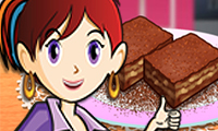 Online free browser game: Sara\\\'s Cooking Class: Caramel Brownie