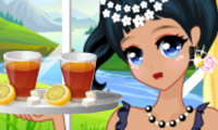 Online free browser game: Summer High Tea