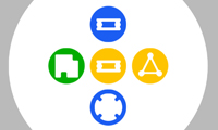 Colored Shapes online game
