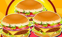 Layanan Bawa Pulang Burger