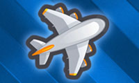 Volcano Flight Control: Airplane Game